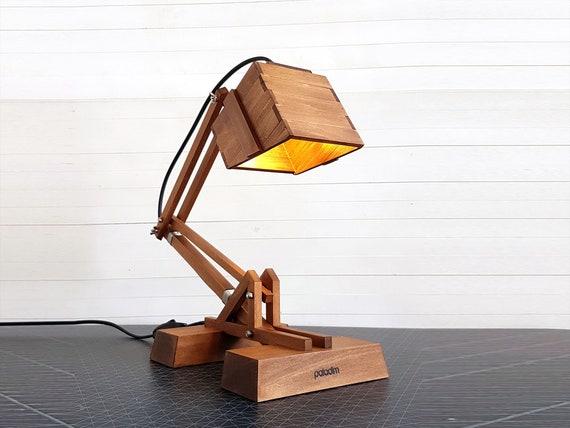 KRAN XI WOODEN DESK LAMP | Handmade