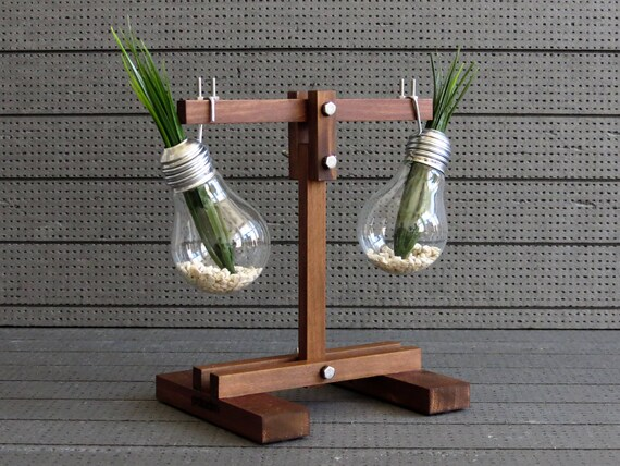 Libra Sign Glass Vase Light Bulb Vase Scale Decor Plant Etsy