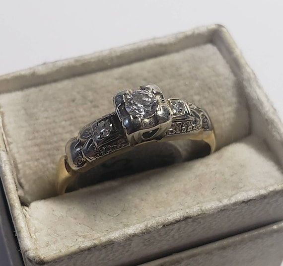 1930's Art Deco Engagement Ring