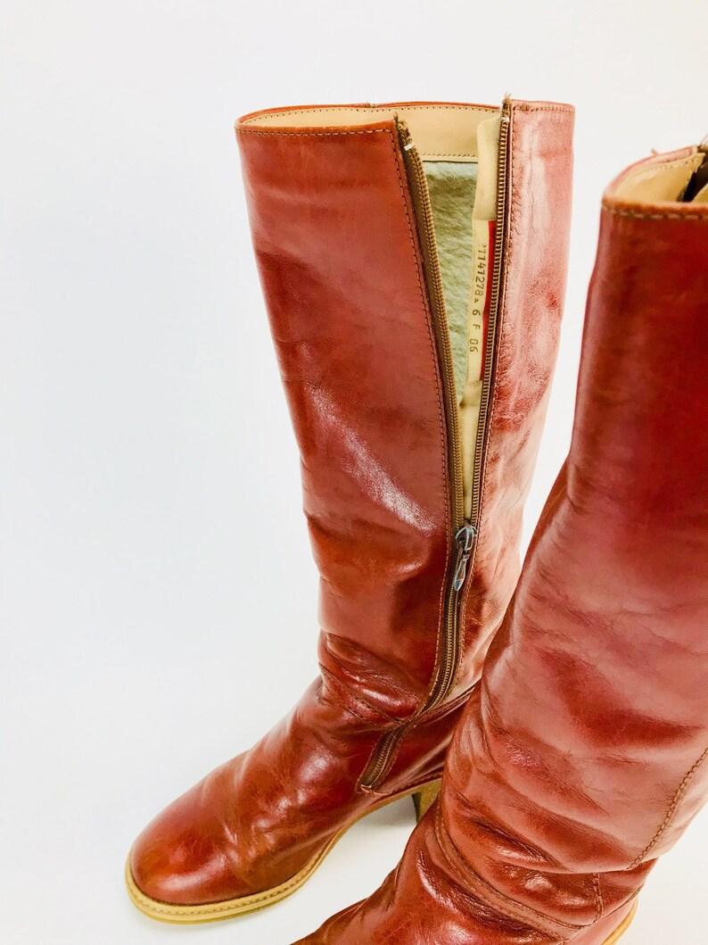 Boots Vintage 38 Stiefel Gefüttert Gr Boho Stunning VSMpqUz