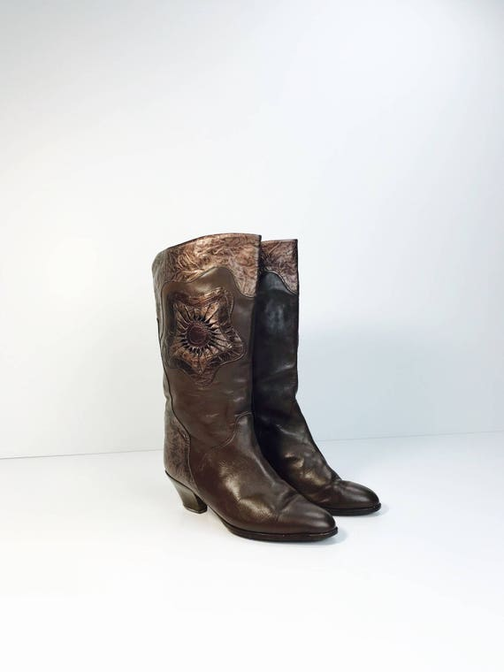 e7af3813c1f94c Cool vintage boots leather 70s