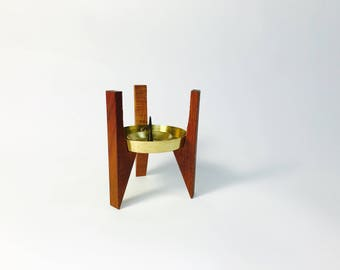 Mid century mid century candle stand Sixties