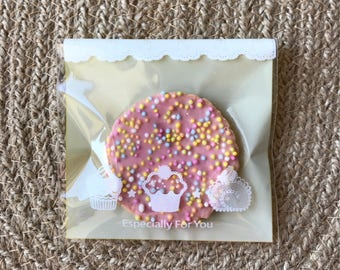 200x Especially For You Plastic Bags Baby Shower Party Treat Sweets Bar Favour Bags Christmas Cookies Chocolate Lolly Commercial Packing