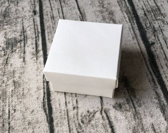 30x White Bomboniere Favour Boxes - Wedding Party Favor Anniversary Gift Box - Chocolate Candy Cookie Boxes - Christmas Gift Box for Guests