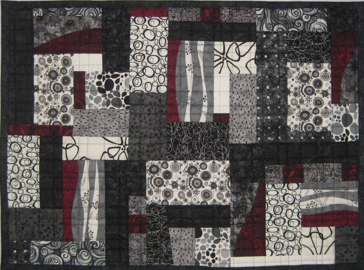 Art Quilts Black And White