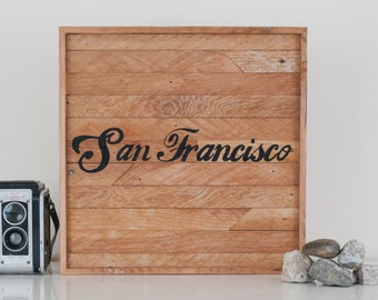 "12""x12"" ""San Francisco"" Stark & Steel Series #237 