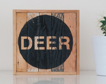 "6""x6"" DEER - Stark & Steel Series #110 