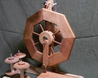 Bergthora single treadle Spinning Wheel