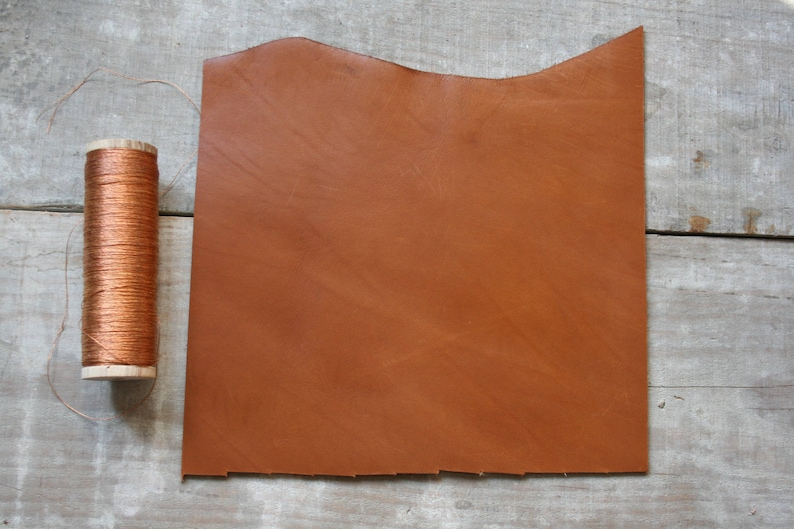 A5 size CAMEL leather image 0