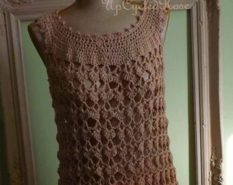 Crochet Couture by Paula Destination Wedding Resort Wear OOAK Ready to Ship