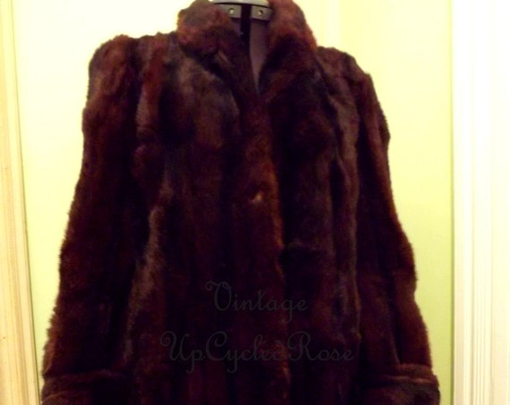 Vintage Fur Coat Looking for New Life Size Small Ready to Ship