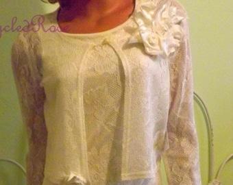 Vintage Wedding Gown with Bolero Jacket Destination Wedding Beach Wedding Resort Collection