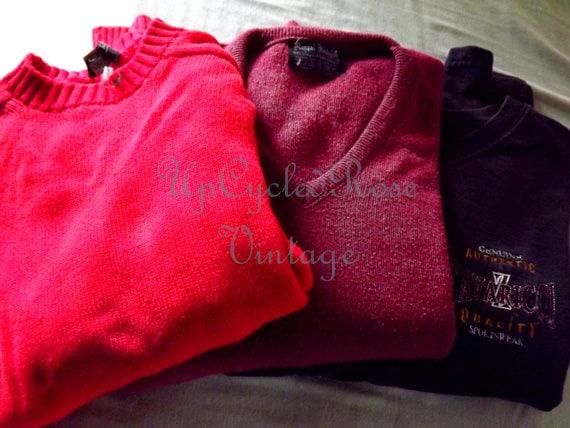Vintage Mens Sweaters x3