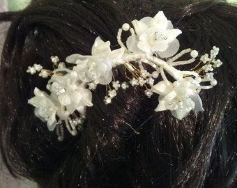 Vintage Bridal Comb Wedding Bling Ready for FREE Shipping in USA