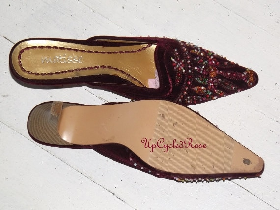 Wearable 50 Save Ready Dollars Ship Unique Bohemian Sale Chic Gypsy Mules Art Fun On To Couture qTw8Ux