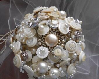 Moonshine Button Bouquet