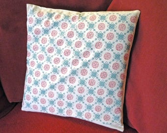 Pillow case hand printed