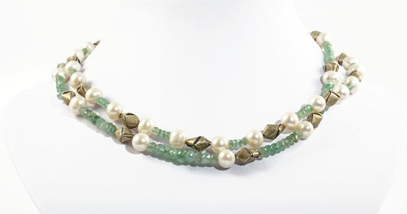green choker emerald jewelry for women green emerald necklace ladies birthday gifts, green pearl necklace emerald necklace