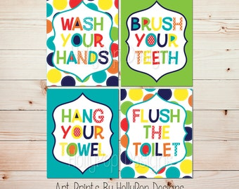 Bathroom manners | Etsy