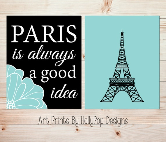 Paris Wall Art Paris Is Always A Good Idea Audrey Hepburn Etsy