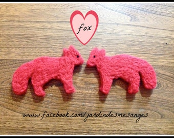 Red fox - Needle felted wool - Natural and ecofriendly