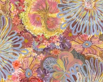 Denise Burkitt Stillness in Nature Sunrise Shimmer Multi PWDB015.MULTI