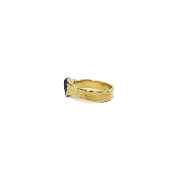 Mens Stone Ring Gold Garnet Ring January Birthstone Ring Raw Garnet Ring Garnet Ring Garnet Birthstone Ring Mens Garnet Ring