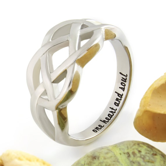 Infinity Ring Promise Ring Infinity Symbol Ring One Etsy