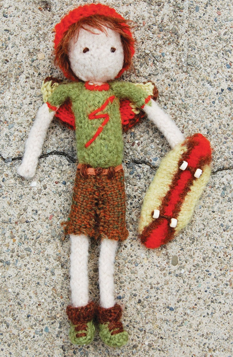Toothfairy Doll for Boys Knitting Pattern image 0