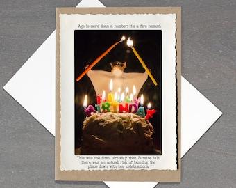 Funny Birthday Card • Dark Humor Bday Card • Blank Inside • Birthday Card for Friend • Birthday Card Funny •