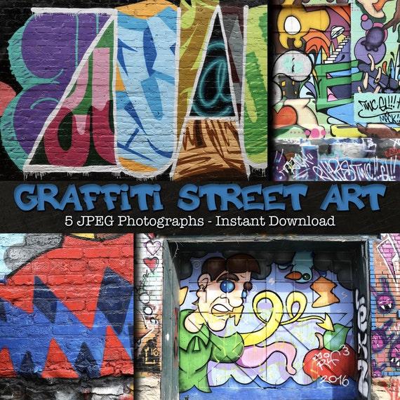 Grassetto Disegni Graffiti Caratteri Street Art Stock Etsy