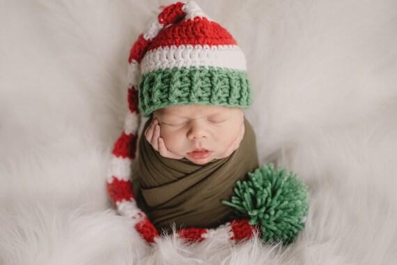 b827c52817c85 Tuque Noël chapeau chapeau de bébé de père Noël Noël Photo