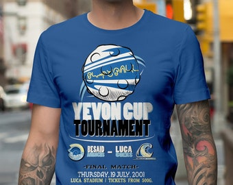 Unisex/Mens: Yevon Cup / Final Fantasy X / Blitzball t-shirt
