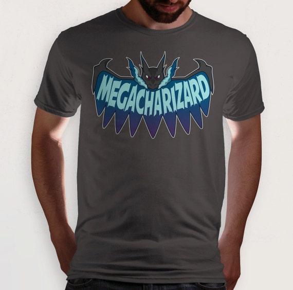 db28aee0 Mega Evolution X Pokemon t-shirt | Etsy