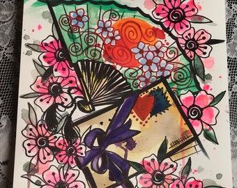 """11x14 watercolor """"Fan Letter"""" Print"""