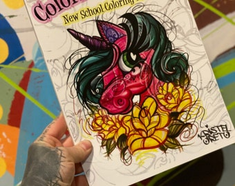 Colorful Chapter Coloring Book