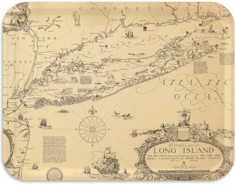 "Long Island 1927 Serving Tray 17""x13"""