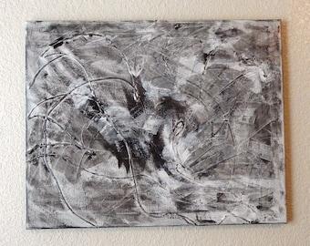 16 X 20 Original Acrylic Abstract Painting