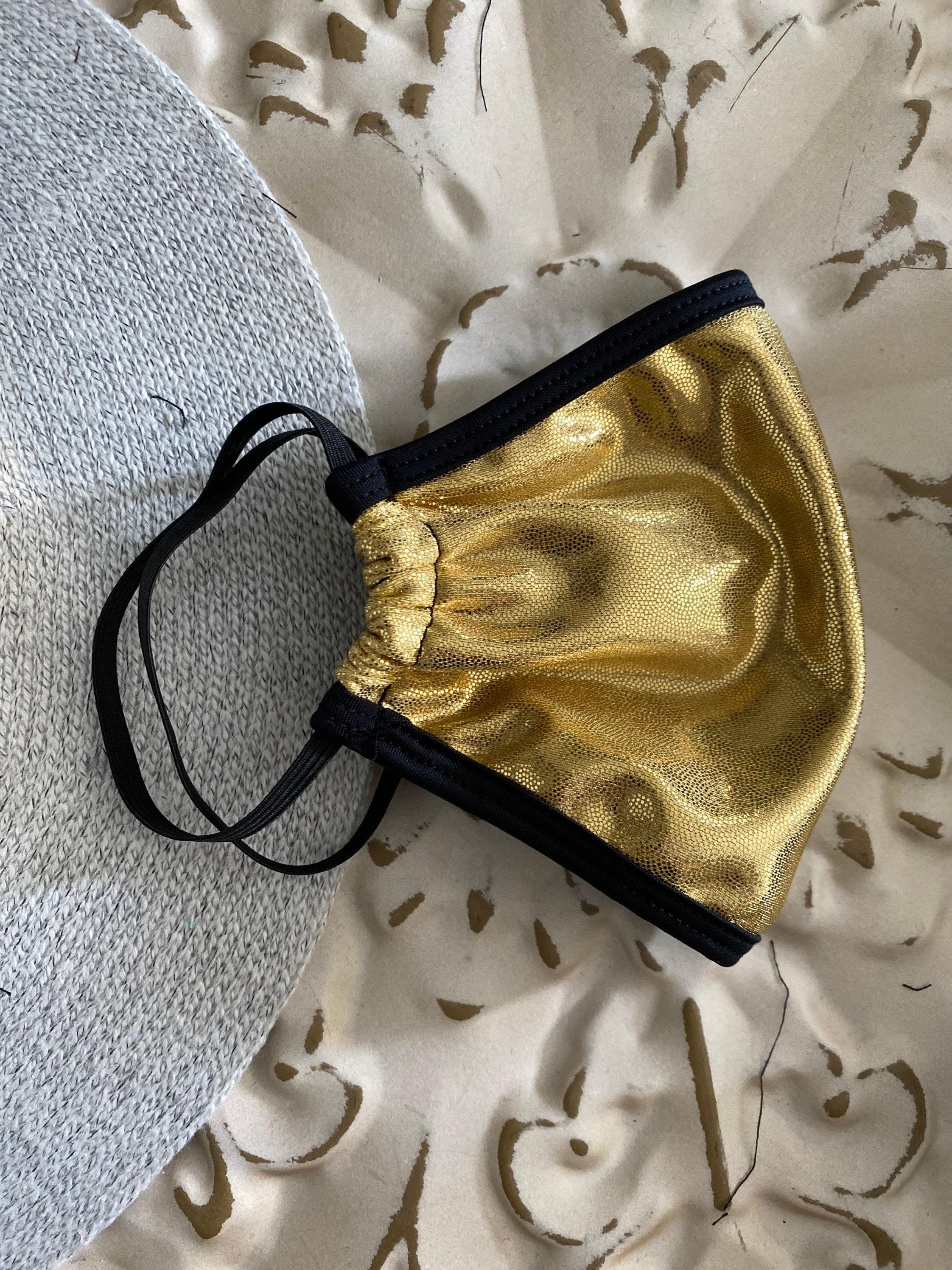 Textured gold sneeze guard