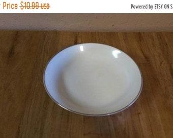 Norcrest Fine China Vintage Small Opalescent  Iridescent Trinket Bowl  Salt Cellar  Dish