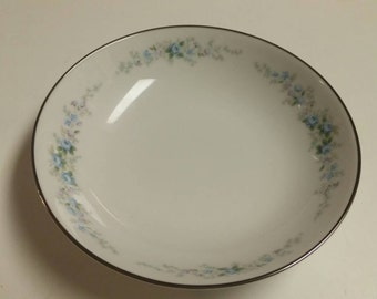 On Sale Noritake Roseberry 6.5 inch BreadButter Serving Plate Fine China Made in Japan Replacement Dish with Platinum Rim