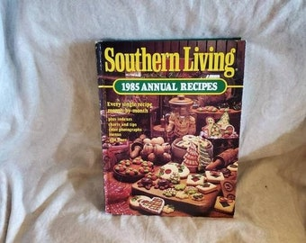 On Sale Southern Living, 1985 Annual Recipes,  Cook Book, Hardback Book for Meal Planning/Cooking/Baking