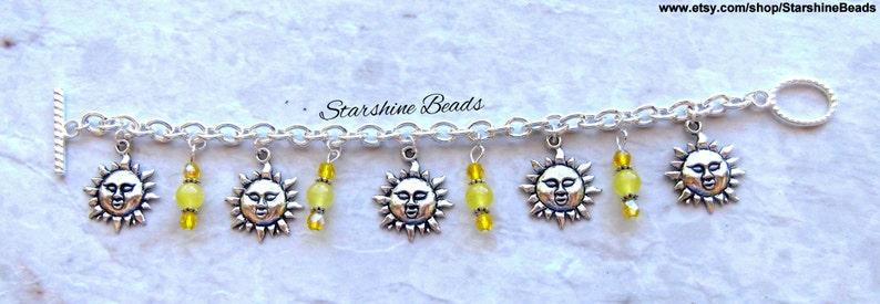 Sun Jewelry Sun Bracelet Summer Jewelry Summer Bracelet Yellow Jade Sun Bracelet Celestial Jewelry Jade Bracelet Yellow Bracelet