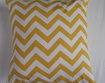 Decorative pillow cover chevron print