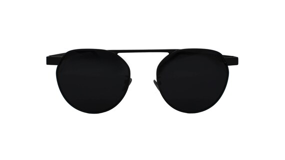 3627506b57 SLOANE Eyewear ARCHER Matte Black Round Unisex Sunglasses