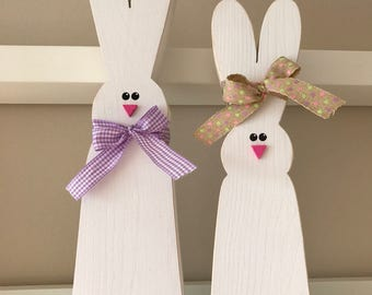 Bunny Couple // Easter Decoration