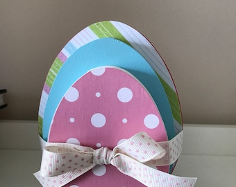 Small Stacking Eggs / Easter Decoration