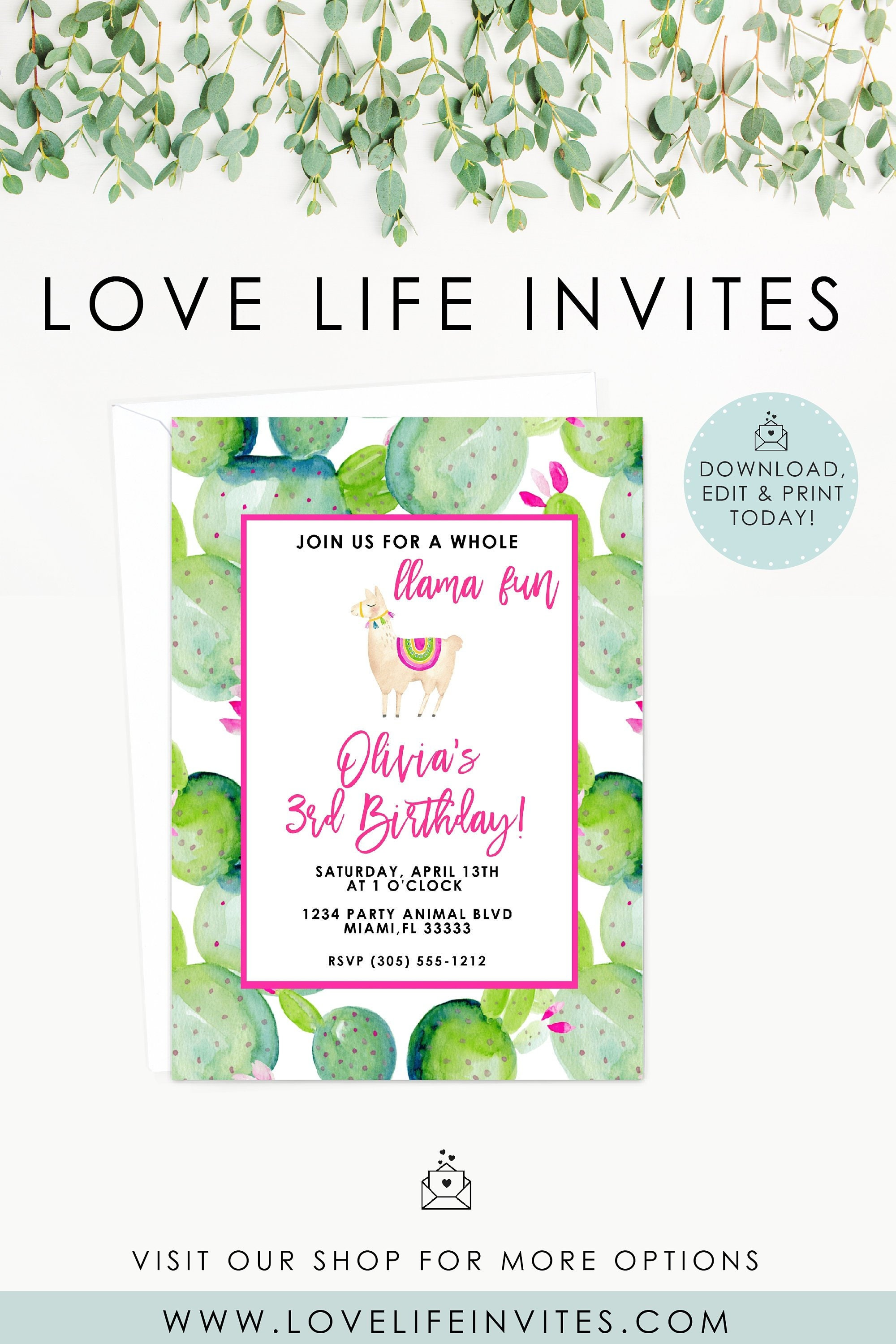 Titanium Gold Sparkly 13Th Personalised Birthday Party Invitations
