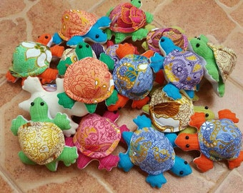 Get 24 Cute Turtle  Dolls Handmade