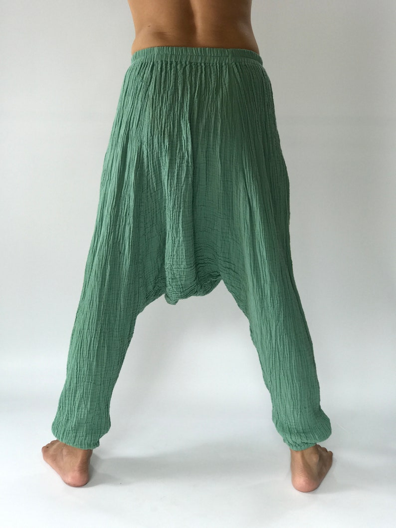 perfect of yoga CG0130 Harem Pants super soft rayon baggy unisex harem pants have the flow